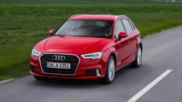 Audi A3 Sportback - front action