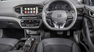 Hyundai IONIQ EV 2016 UK - interior
