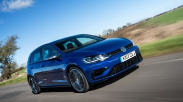 Used Volkswagen Golf R - front action