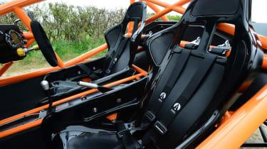Ariel Nomad - seats
