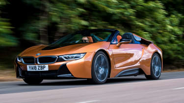 BMW i8 Roadster - front