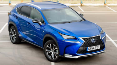A to Z guide to electric cars - Lexus NX hybrid