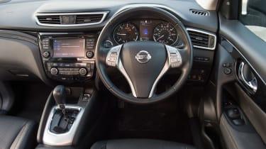 Used Nissan Qashqai Mk2 - dash
