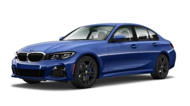 Leaked BMW 3 Series - front blue 2