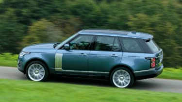 Updated Range Rover - above