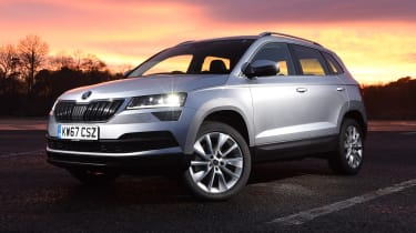 Skoda Karoq - headlights