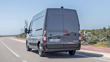2019 Renault Master driving rear