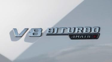 Mercedes-AMG GLS 63 - V8 badge