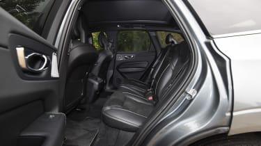 Volvo XC60 - rear seats
