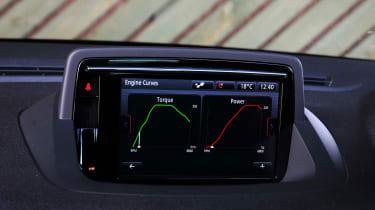 Renault Megane GT 220 - screen