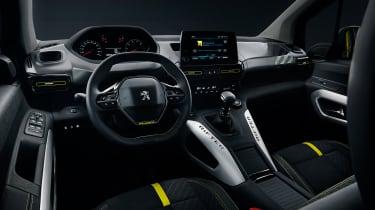 Peugeot Rifter 4x4 Concept - interior