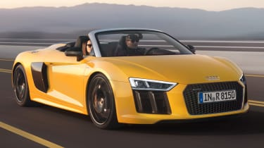 Audi R8 Spyder 2016 official - front tracking