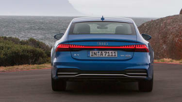 Audi A7 Sportback - full rear