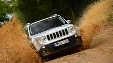 Used Jeep Renegade - front off-road