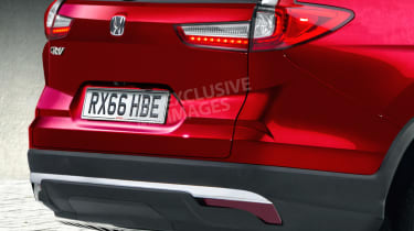 New Honda CR-V - exclusive image - rear detail