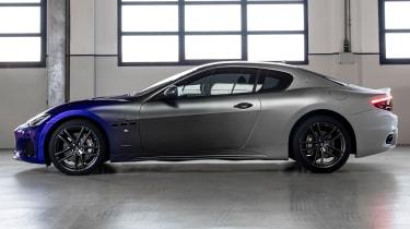 Maserati GranTurismo Zeda - side static