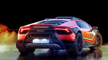 Lamborghini Huracan Sterrato Concept rear
