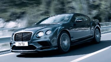 Bentley Continental GT Supersports 2017 - video tracking