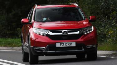 Honda CR-V - front cornering