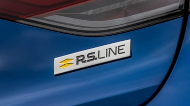 Renault Megane facelift - rear badge