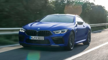 BMW M8 Competition - front action