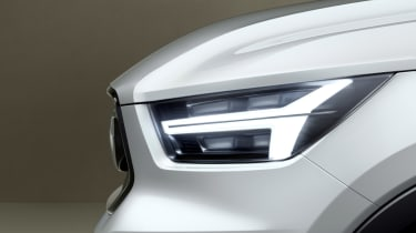 Volvo 40.1 Concept (Volvo XC40) - front light detail