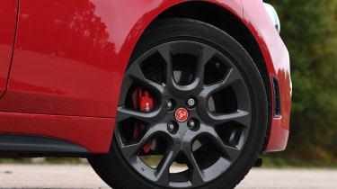 abarth 124 spider alloy wheel