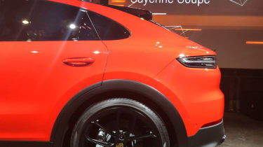 Porsche Cayenne Coupe reveal event