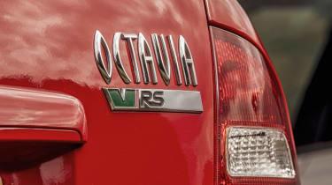 Skoda Octavia vRS Mk1 - rear badge
