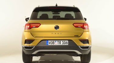 Volkswagen T-ROC - studio full rear