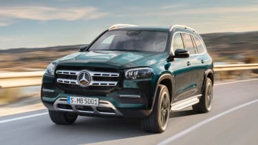 Mercedes GLS - green front tracking