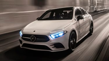 Mercedes A-Class Saloon - front night