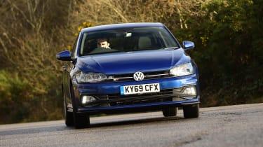 Volkswagen Polo - cornering