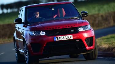 Range Rover Sport SVR - front cornering