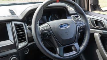 Ford Ranger Raptor - steering wheel