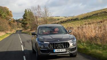 Maserati Levante GranLusso - front tracking