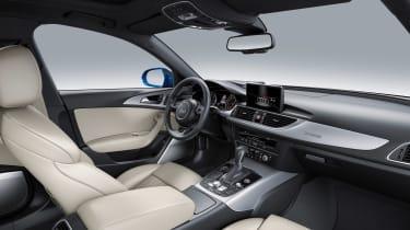 Audi A6 facelift - interior