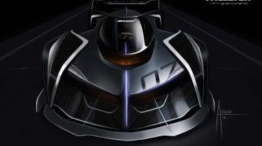McLaren Ultimate Vision Gran Turismo - front design