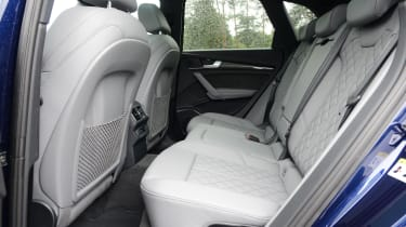 New Audi SQ5 2017 review UK - rear seats