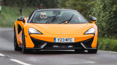 Mclaren 570s review - driving