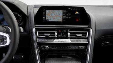 BMW 8 Series - centre console