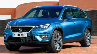 SEAT Tarraco - render front