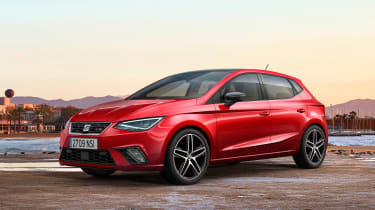 New SEAT Ibiza - front/side