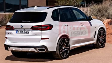 Leaked 2018 BMW X5 pic rear