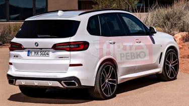 Leaked 2018 BMW X5 pic rear