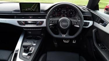 Twin test - Audi A5 - cockpit