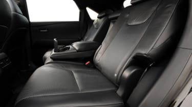 Used Lexus RX - rear seats