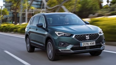 seat tarraco tracking front