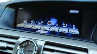 Lexus LS display