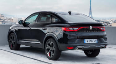 Renault Arkana - rear static black